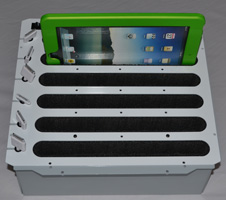 Compact Station To Sync And Charge Multiple Ipad Tablets The Lightweight Tabletop Design Is A Practical Economic Organize Solution
